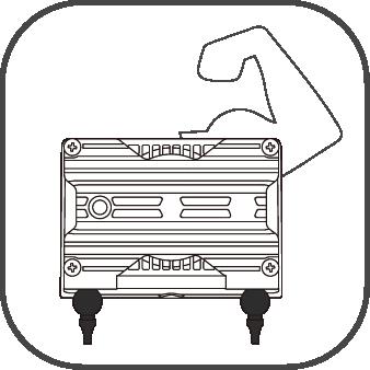 電磁駆動式ダイアフラムポンプの特長 耐久性が高い