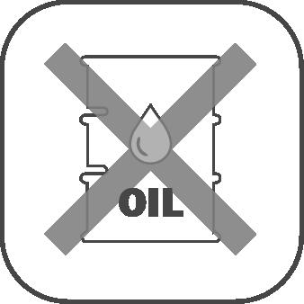 電磁駆動式ダイアフラムポンプの特長 オイルフリー