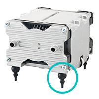 テクノ高槻 小型エアーポンプ ダイヤフラムポンプ 振動対策