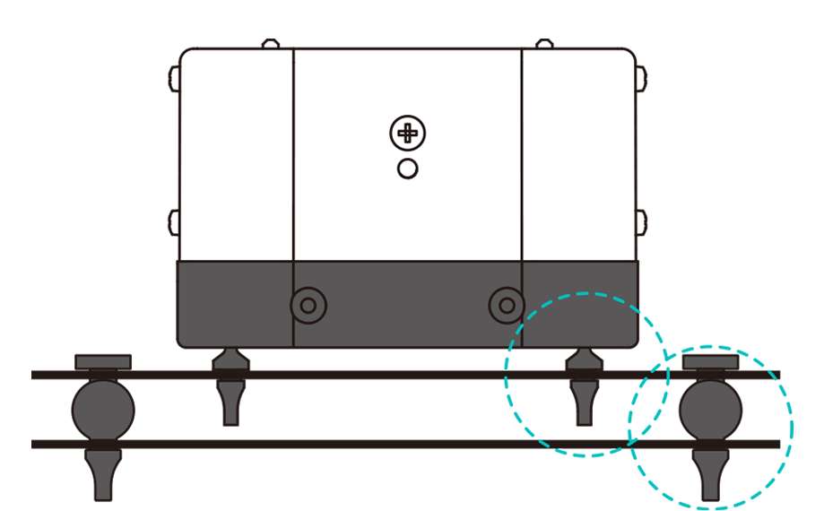 HIBLOWエアーポンプ 振動対策