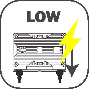 電磁駆動式ダイアフラムポンプの特長 消費電力が低い